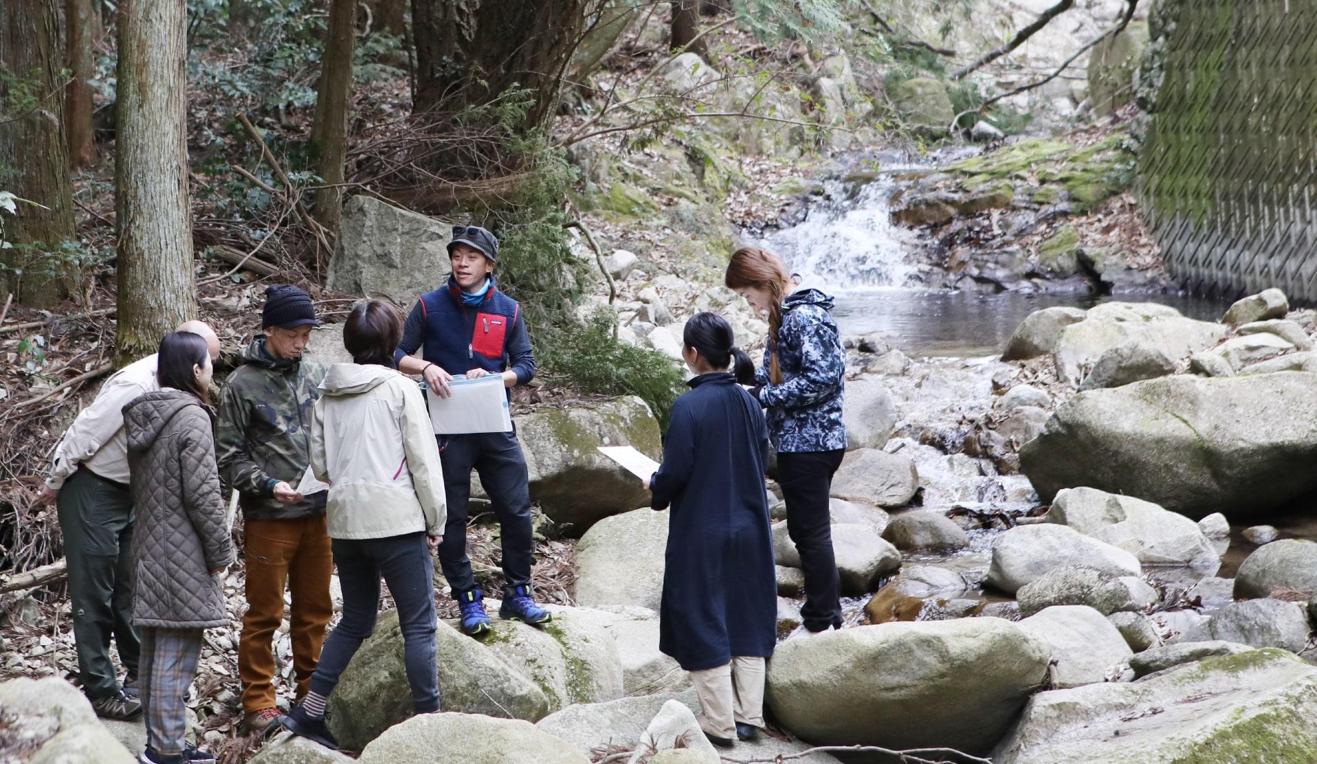 川遊びから学ぶ、リアルな環境問題